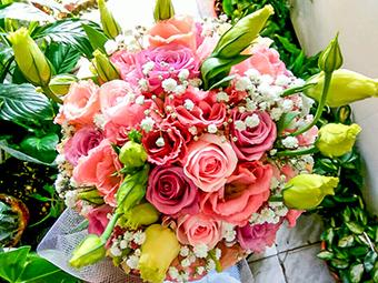 פרחי פנחס - זרי כלה ורדים