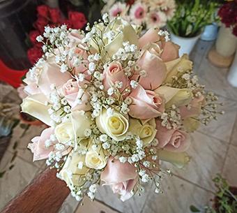 פרחי פנחס - זר כלה