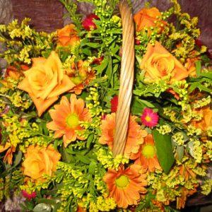 פרחי פנחס - פרחים בסלסלה